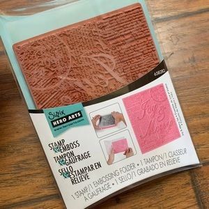 Sizzix Stamp & Emboss Stampin Up